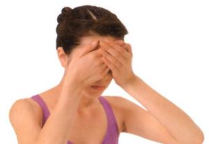 Упражнения йоги для глаз