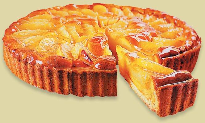 Торт с яблоками рецепт