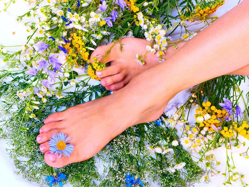 Йога для лечения плоскостопия