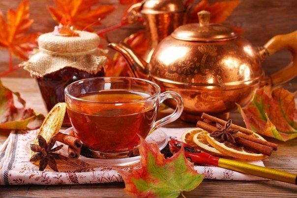 11 рецептов полезного осеннего чая